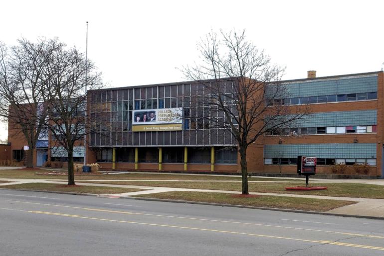 Osborn High School in Detroit, MI