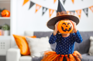 Halloween can be too scary for young children