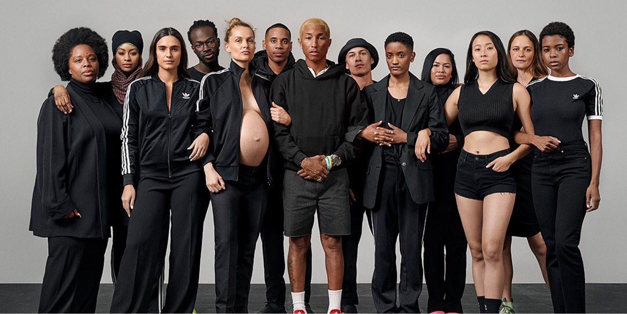 Pharrell Williams Celebrates Pregnant And Nursing Moms In New Adidas Ads Parentstogether