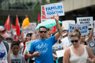 Fibonacci Blue, Free Our Future. Families Belong Together. Abolish ICE. March and Day of Action (cropped)