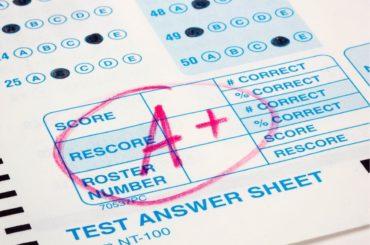 Graded test.