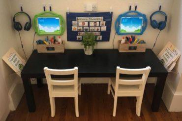 Virtual school workstation.