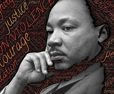 Martin Luther King Jr. Photo illustration.