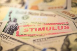 Stimulus checks.