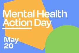 Mental Health Action Day graphic